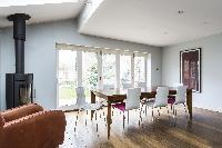 bright and breezy dining room of London Mayfield Avenue II luxury apartment