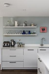 cool kitchen cabinets in London Mayfield Avenue II luxury apartment