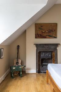 nice fireplace in London Mayfield Avenue II luxury apartment