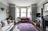 exquisite parlor of London Mayfield Avenue II luxury apartment