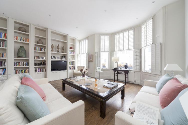 fabulous London Stafford Terrace luxury apartment