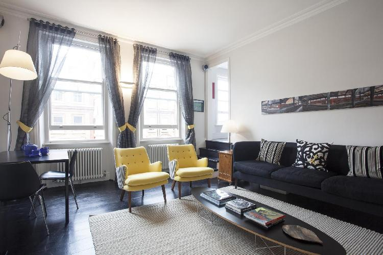 serene and snug London Brechin Place IV luxury apartment and holiday home