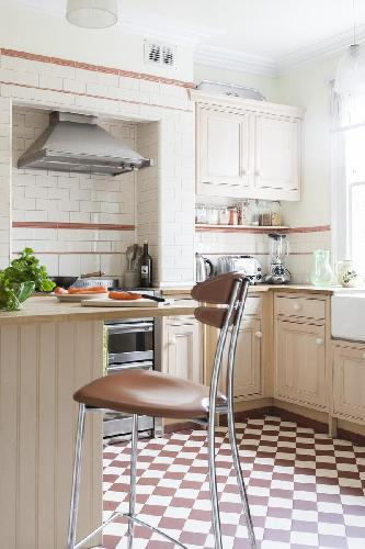 charming kitchen of London York Rise luxury apartment