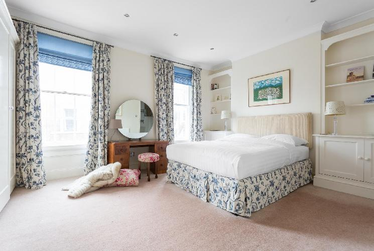 breezy and bright London Remington Street luxury apartment