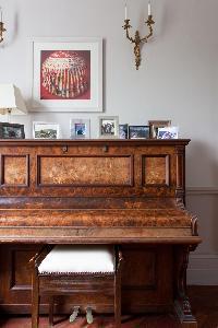 piano in luxury apartment in Abbey Gardens St John's Wood London