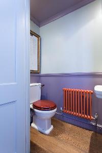 toilet in luxury apartment in Abbey Gardens St John's Wood London