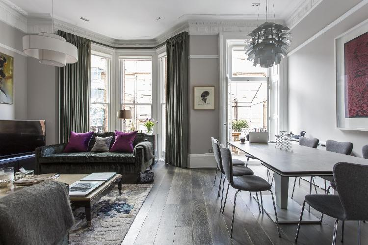 chic and charming London Cresswell Gardens II luxury apartment and holiday home