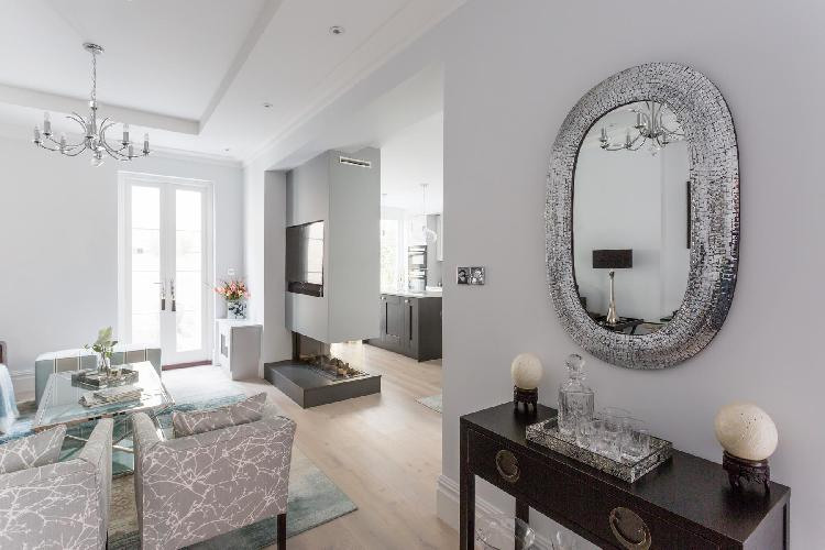 tastefully furnished London Warwick Square IX luxury apartment