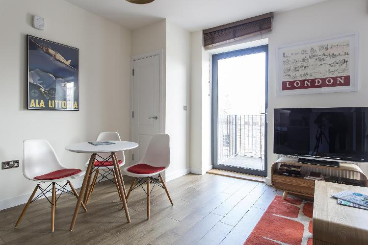 delightful dining area of London Grange Road II luxury apartment