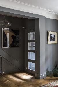 neat and trim interiors of London De Walden Street luxury apartment