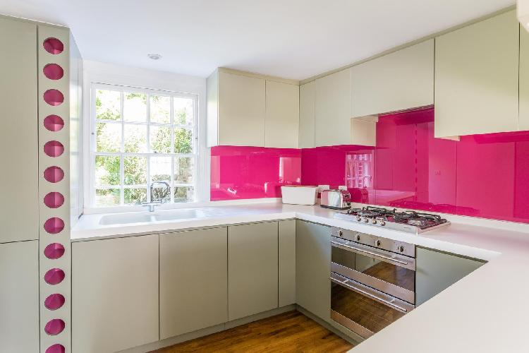 awesome kitchen of London Whittlesey Street luxury apartment