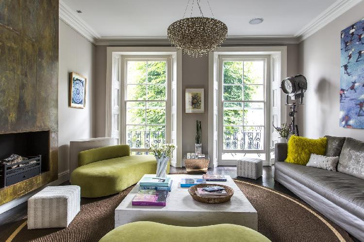 charming windows of London Sutherland Place luxury apartment