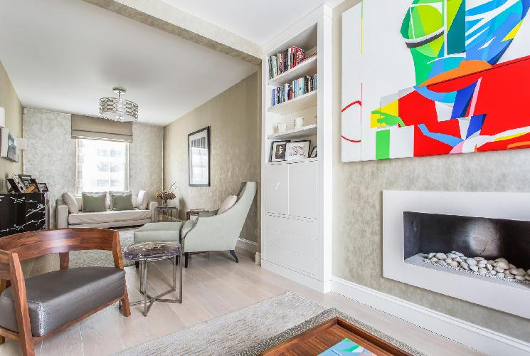 pretty London Ovington Street II luxury apartment and holiday home