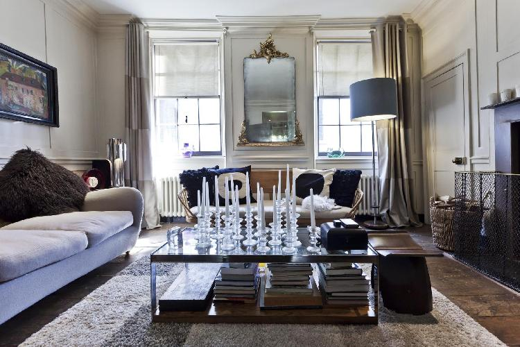 exquisite London Fournier Street luxury apartment and vacation rental