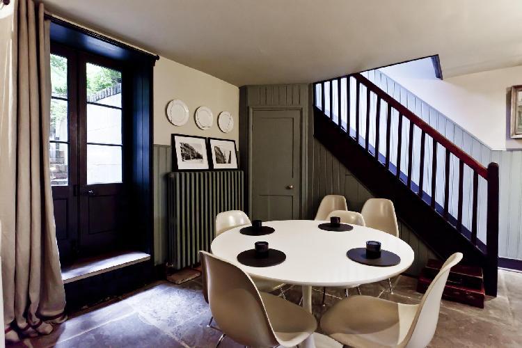 fabulous multilevel London Fournier Street luxury apartment