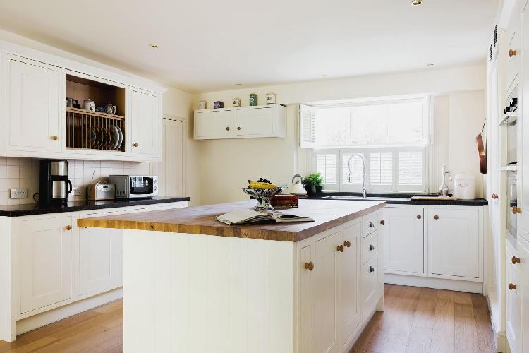 awesome kitchen of London Gloucester Crescent II luxury apartment