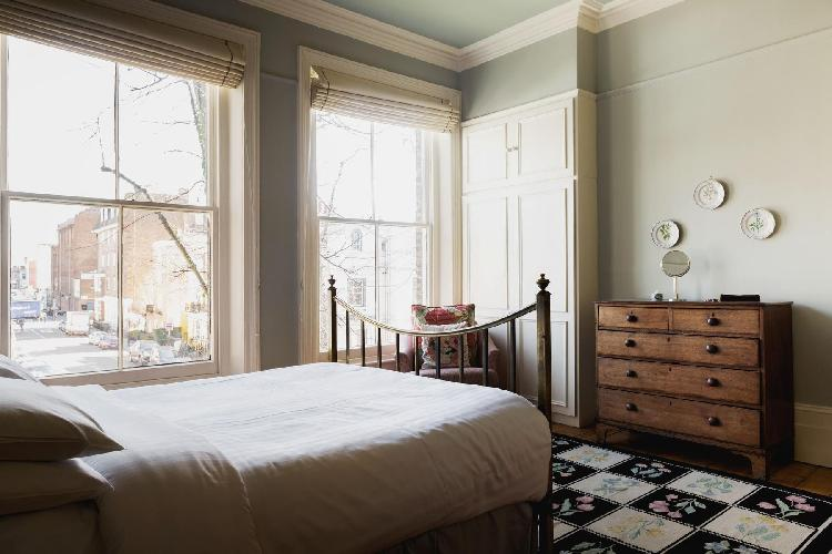 awesome bedroom in London Gloucester Crescent II luxury apartment