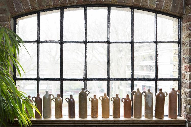 fascinating window of London Weston Street luxury apartment