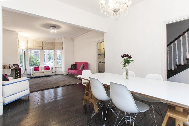 nice multilevel London Heath Hurst Road luxury apartment
