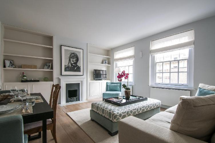 fully furnished London Old Church Street II luxury apartment