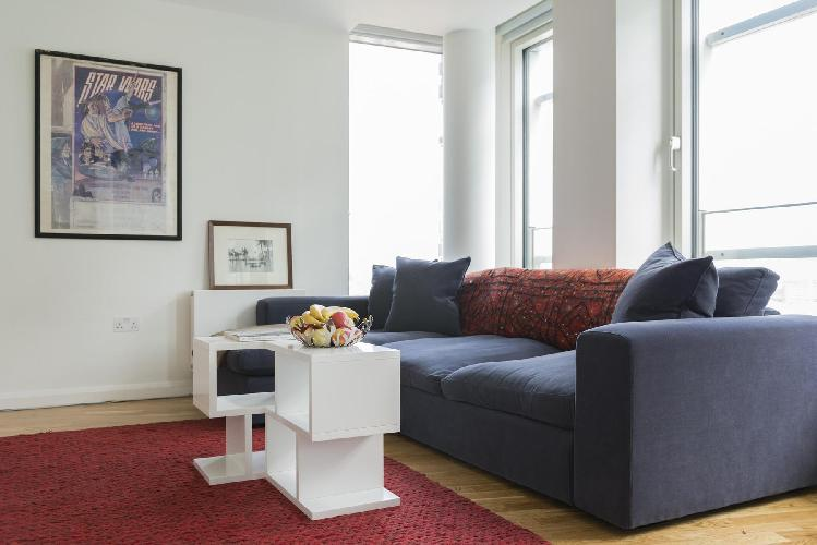 awesome sitting room of London Earnshaw Street luxury apartment