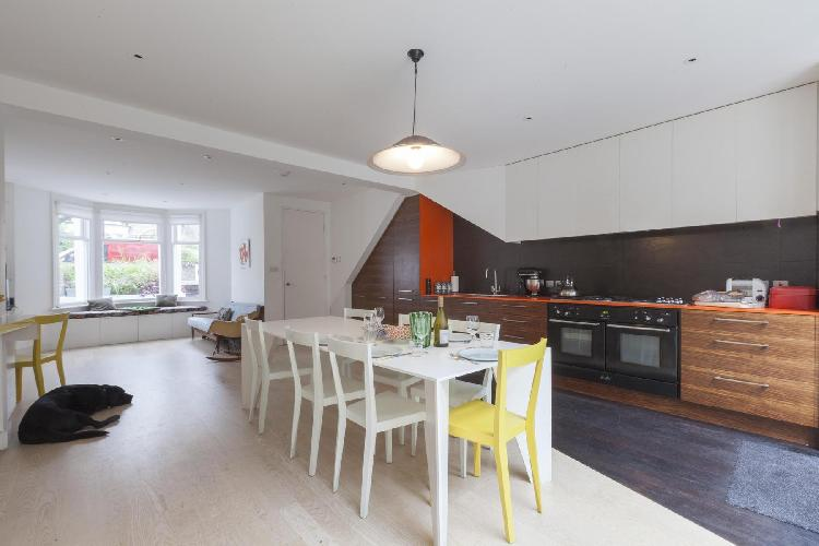 bright and breezy London Ramsden Road luxury apartment