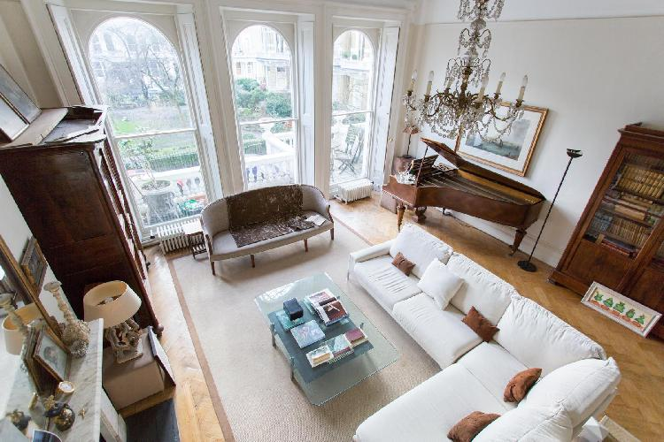 exquisite multilevel London Cornwall Gardens VI luxury apartment and holiday home