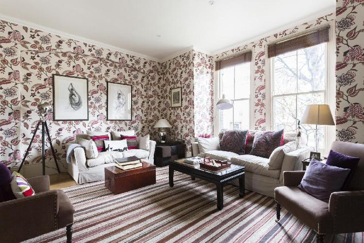 sunny and airy London Coningham Road luxury apartment and vacation rental