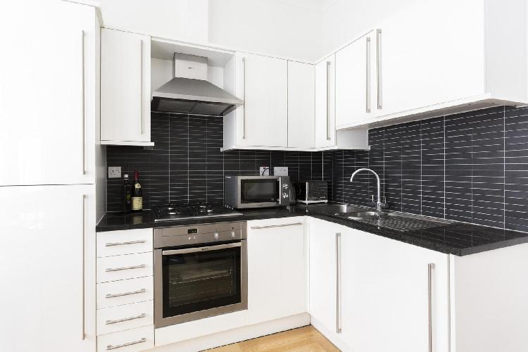 fully furnished London Villiers Street luxury apartment