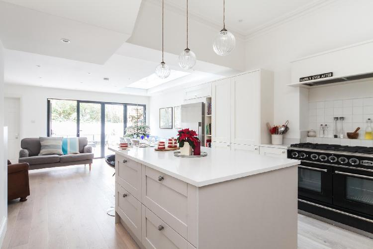 chic and cheerful multilevel Hampstead Heath London Dunollie Place luxury apartment and holiday home