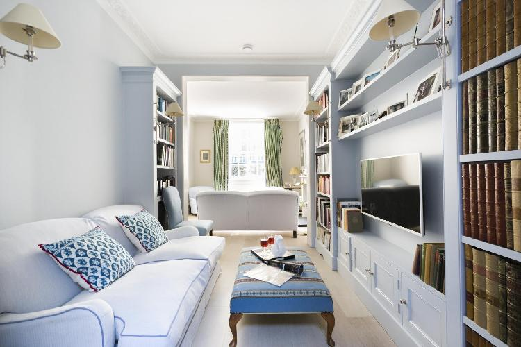 fully furnished London Montpelier Street luxury apartment