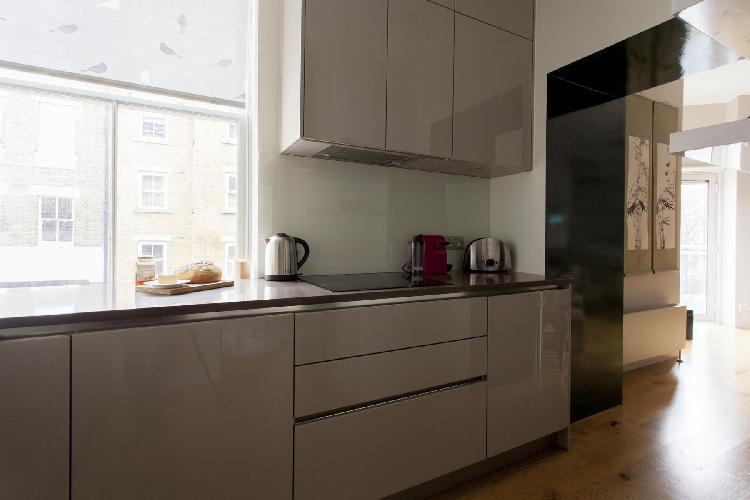 fully furnished London Regency Street luxury apartment