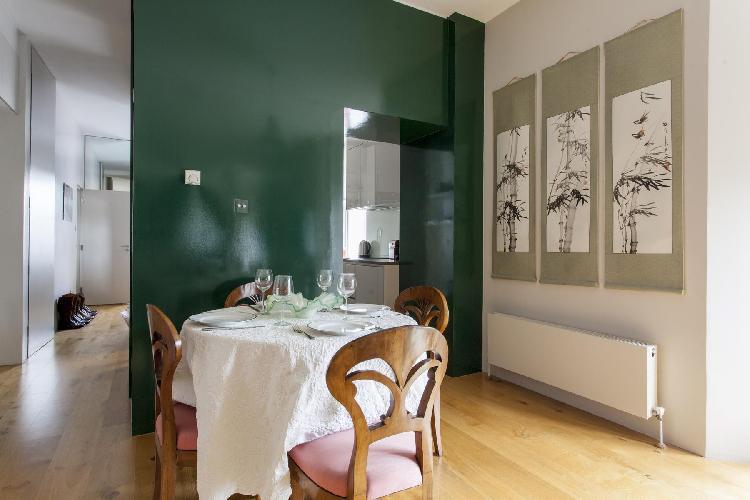 awesome interiors of London Regency Street luxury apartment