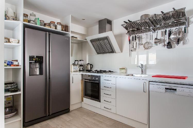 cool kitchen in London Garway Road II luxury apartment