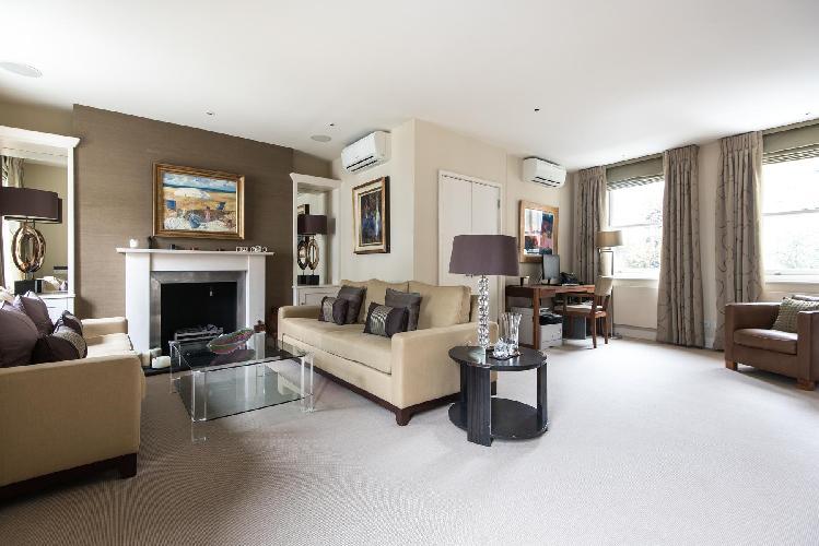 divine multilevel London Campden Hill Gardens IV luxury apartment