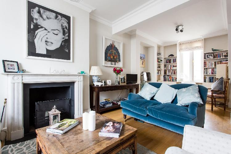beautiful London Queensdale Road IV luxury apartment and vacation rental