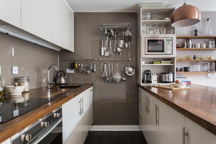 delightful kitchen of London Hardwick Street II luxury apartment