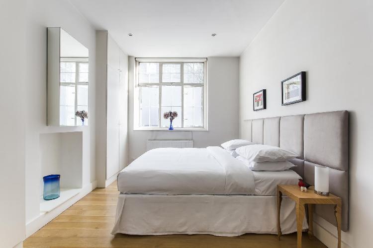 lovely bedroom of London Ledbury Road II luxury apartment