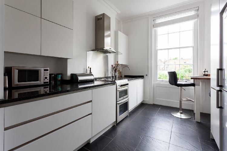 fully furnished London Myddelton Square II luxury apartment