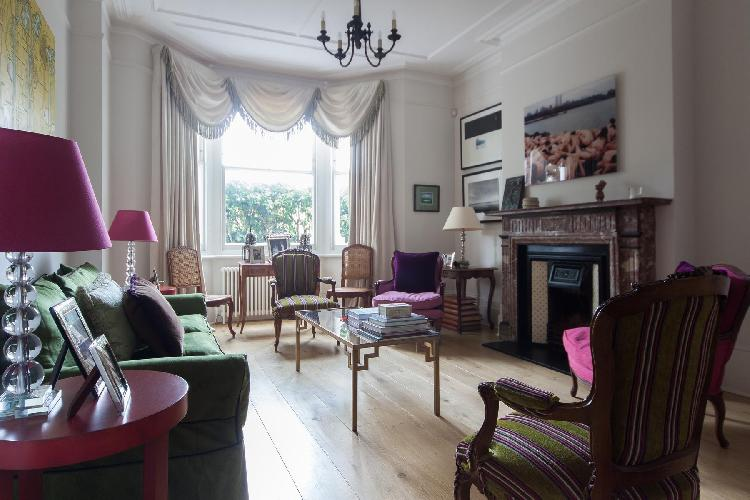 exquisite London Luxemburg Gardens luxury apartment