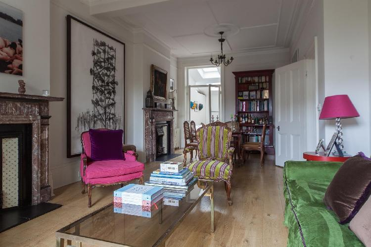 charming London Luxemburg Gardens luxury apartment