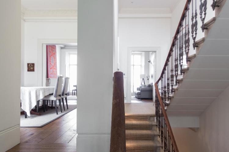 beautiful multilevel London Onslow Gardens XVIII luxury apartment