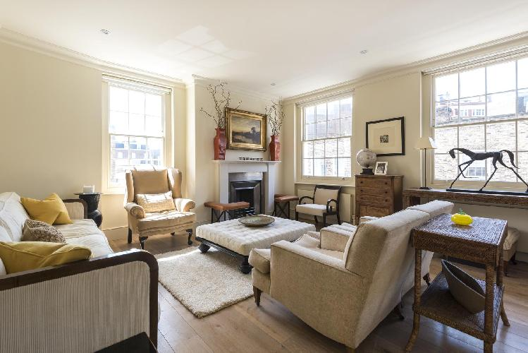 charming and chic London - Bourne Street luxury apartment