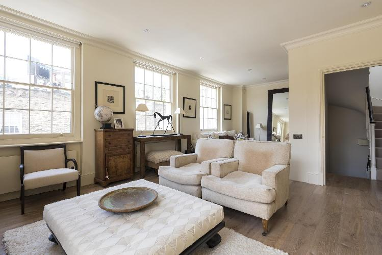 bright and breezy London - Bourne Street luxury apartment vacation rental