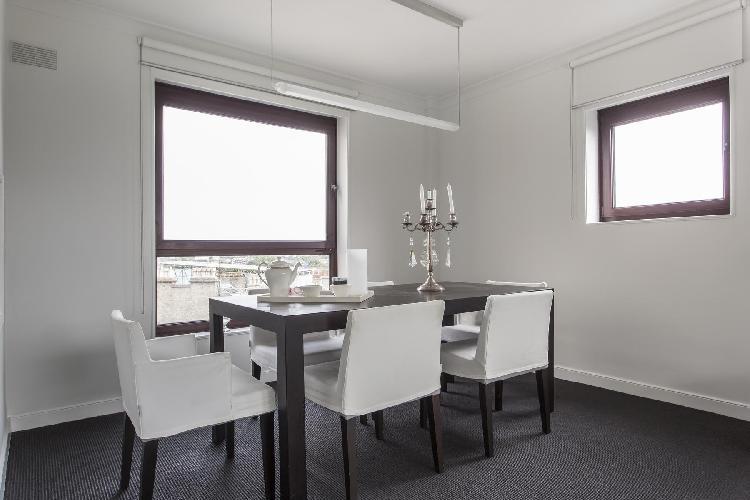 delightful dining area in London Primrose Hill Road II luxury apartment