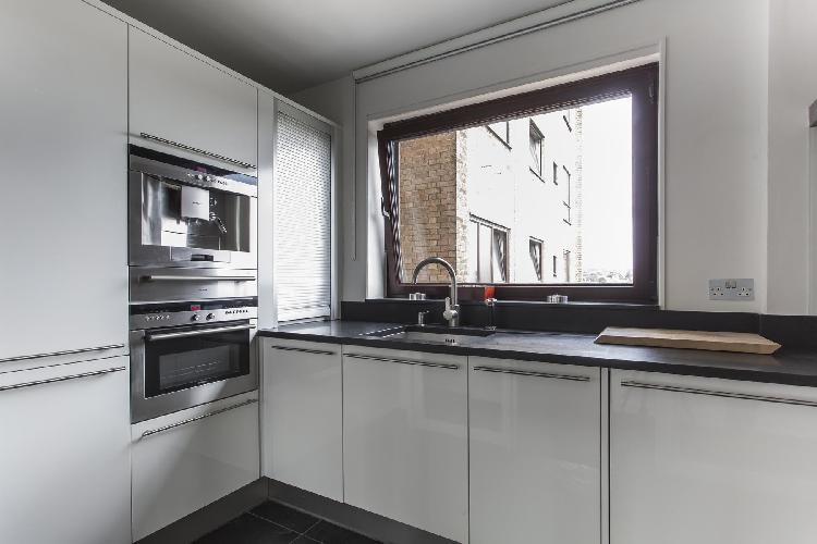 nice modern kitchen of London Primrose Hill Road II luxury apartment