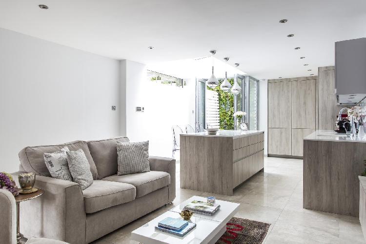 beautiful London Boston Place luxury apartment