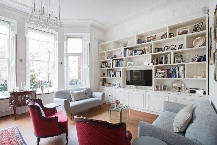 elegant multilevel London Courtfield Road II luxury apartment and vacation rental