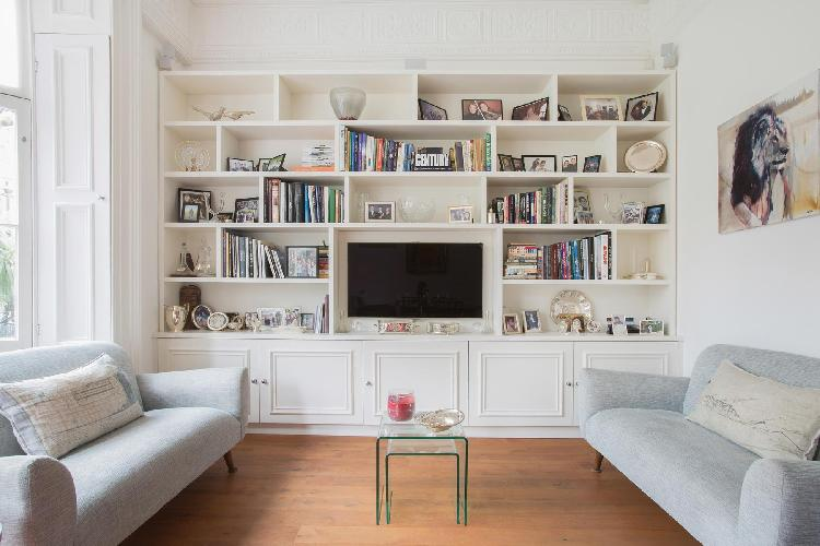 awesome furnishings in the sitting room of London Courtfield Road II luxury apartment