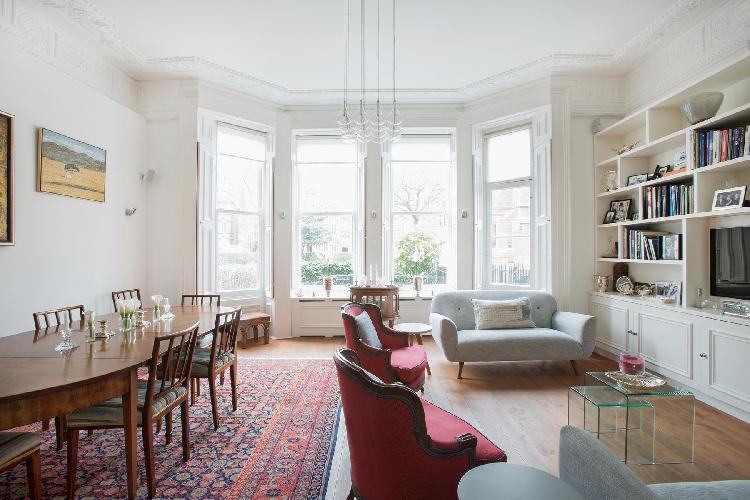exquisite multilevel London Courtfield Road II luxury apartment and holiday home